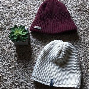 Columbia warm beanie hat bundle